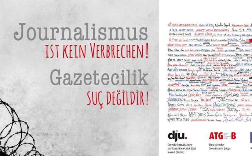 Tutuklu gazetecilere Almanya'dan mektup var