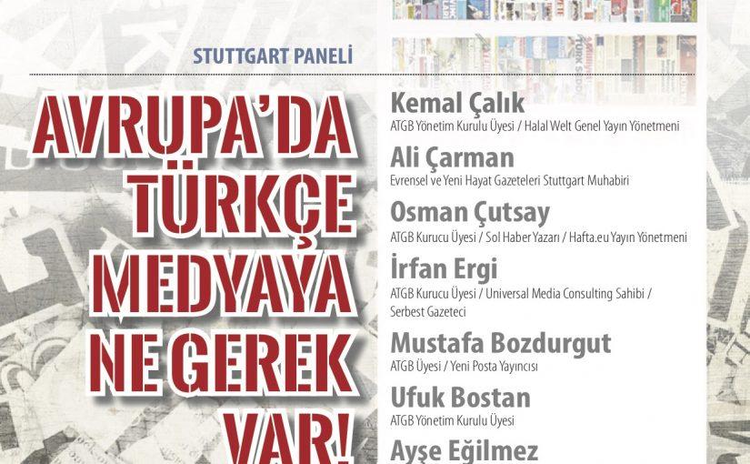"""ATGB """"Türkçe medya"""" panellerine start veriyor"""