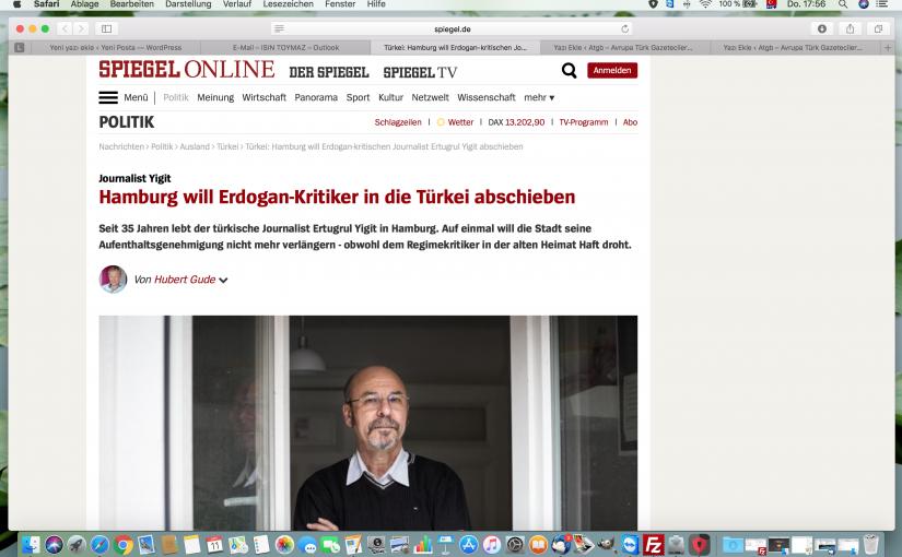 Hamburg will Erdogan-Kritiker in die Türkei abschieben