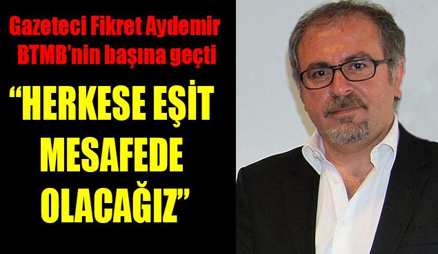 ATGB Belçika Temsilcisi, gazeteci Fikret Aydemir BTMB'nin başına geçti