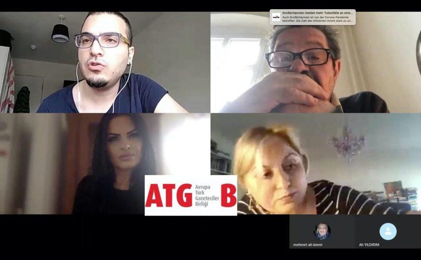 ATGB'nin YouTube kanalı kuruldu: Salgında Avrupa'da neler oluyor?